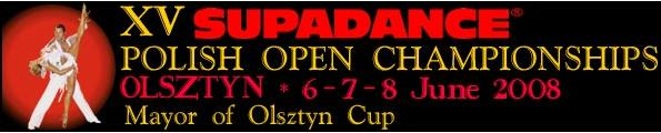 XV Supadance Polish Open Championships