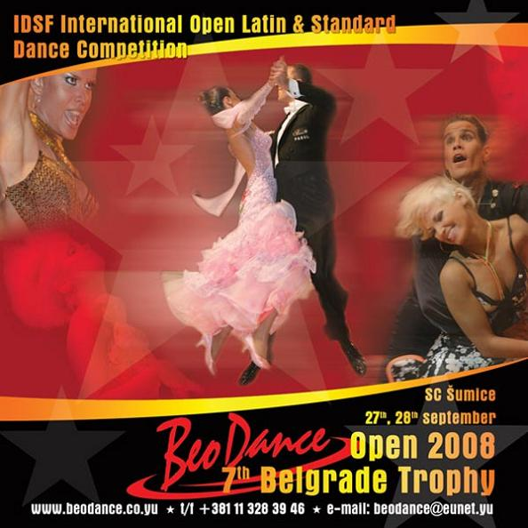 IDSF International Beo Dance Open  BELGRADE TROPHY 2008